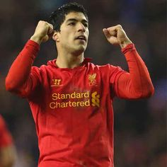 Luis Suárez of Uruguay has been suspended by the FIFA Disciplinary Committee after an incident during the FIFA World Cup match between Italy and Uruguay played Liverpool Players, Liverpool Football Club, Liverpool Fc, Cristiano Ronaldo Junior, Cristiano Ronaldo 7, Soccer Online, Live Soccer, This Is Anfield, Brendan Rodgers
