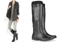 DKNY x FEED rain boots have our approval.