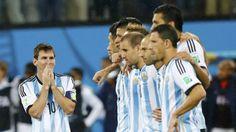 Lionel Messi: del sufrimiento a la euforia tras llegar a final. July 09, 2014.
