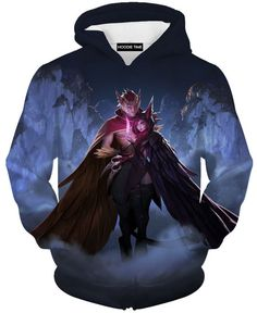 League Of Legends Xayah and Rakan Sweatshirt - 3D Sweaters - LoL Clothing