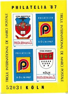 Block STAMP Romania 1987,MICHEL NR.237(80X110mm) FREE SHIPPING!