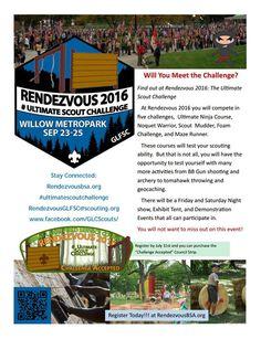 2016 Area 2 Venturing Rendezvous -  September 23 - 25, 2016