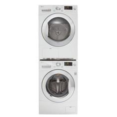 LG Electronics 4.2 cu. ft. Electric Ventless Dryer in White-DLEC855W - The Home Depot