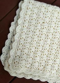 Ravelry: Sarah Blanket pattern by Michelle Ferguson Crochet Blanket Border, Crochet Boarders, Crochet Baby Blanket Free Pattern, Baby Afghan Crochet, Crochet Bebe, Afghan Crochet Patterns, Crotchet Patterns, Crochet Dolls, Baby Patterns