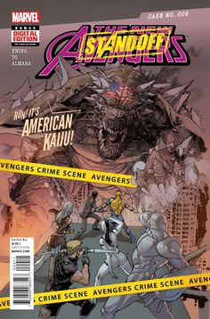 New Avengers Series) 9 Marvel Comics Modern Age Comic book covers Avengers Comics, Avengers 2015, Uncanny Avengers, New Avengers, Free Comic Books, Comic Book Covers, League Of Extraordinary, Die Rächer, Marvel Now