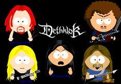 South Park Dethklok  love it