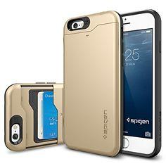 iPhone 6 Case, Spigen Slim Armor CS Case for iPhone 6 (4.7-Inch) - Retail Packaging -  Champagne Gold (SGP10967) Spigen http://www.amazon.com/dp/B00JH88L8O/ref=cm_sw_r_pi_dp_gWHhub178XTKD