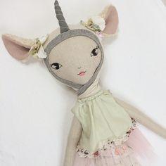 A work in progress - Lola's Unicorn dress up