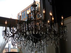 How can you cover the hole from an old chandelier? Answer: I see ...