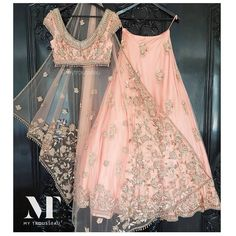 One of our Indian wedding dresses. Using one of our signature blush tones from our hand picked colour palettes. Colour customisation available with our Indian bridalwear and Indian wedding dress collection weddings Indian Bridal Outfits, Indian Designer Outfits, Indian Dresses, Indian Clothes, Indian Wedding Clothes, Indian Reception Outfit, Indian Wedding Wear, Indian Wedding Fashion, Indian Designers