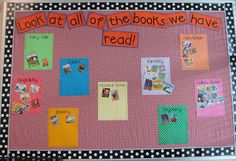 I lie this idea.  I have been trying to think of a way to display what we are actually reading by genre.