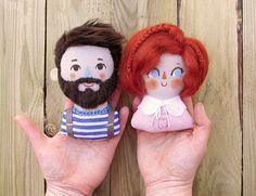Plush Dolls, Doll Toys, Felt Crafts, Diy And Crafts, Tilda Toy, Dolly Doll, Custom Wall, Fabric Dolls, Doll Patterns