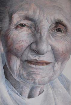 Image of: Faces Annemarie Busschers Real Old Face Verbazingwekkende Tekeningen Pinterest 39 Beste Afbeeldingen Van Portret Inspiratie Figure Painting