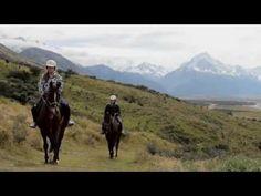 Mount Cook, New Zealand - Glentanner Horse Trekking. Check out our video! Mount Cook New Zealand, Trekking, Horses, Check, Videos, Horse, Hiking