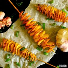 Obserwatorium Gastronomiczne: Zakręcone, ziołowe ziemniaki pieczone - sprężynki