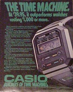 1977 Casio F100