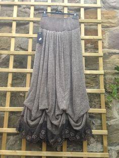 Sabrina Black Lagenlook Boho Style Skirt /& Top Set SIZES 16//18 /& 18//20+