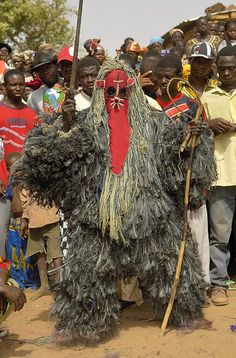 Africa | Bobo Masquerader. Sancri, Burkina Faso | ©Sergio Pessolano