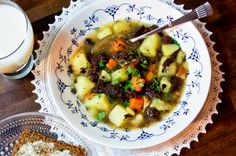 Rössypottu / Traditional soup from Oulu