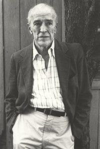 William Maxwell, brilliant writer and editor at the New Yorker.