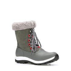 Women's Apres Lace Arctic Grip - Boots Casual Winter Boots, Short Winter Boots, Short Boots, Womens Muck Boots, Muck Boot Company, Waterproof Winter Boots, Duck Boots, Lace Up Boots, Leather And Lace