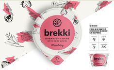 Brekki Overnight Oats Brand & Packaging on Behance