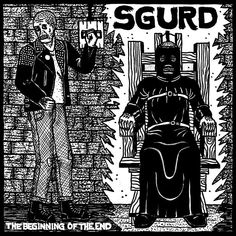 Sgurd - Beginning of the End [Vinyl] Arte Punk, Punk Art, Russian Criminal Tattoo, Streets Have No Name, Evil Tattoos, Russian Tattoo, Band Posters, The Heirs, Grim Reaper