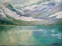 I have just published Suspended clouds in the Norwegian fjords on Artfinder