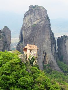 Majestic Meteora – The Most Stunning Part Of Greece. Read all about this unique area, where monasteries are built perched on top of mountains. Plenty more photos to share inside the full article!