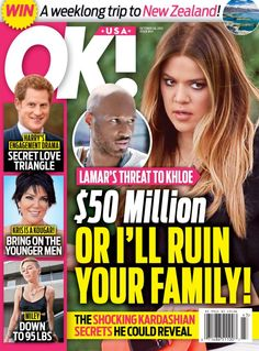 OK!  Magazine - Buy, Subscribe, Download and Read OK! on your iPad, iPhone, iPod Touch, Android and on the web only through Magzter