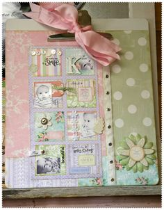 altered art clipboard. very clever!