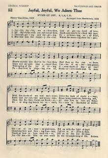 Little Birdie Blessings : Hymn ~ Joyful Joyful We Adore Thee Hymns Of Praise, Praise Songs, Worship Songs, Gospel Music, Music Lyrics, Music Songs, Gospel Lyrics, Church Songs, Church Music
