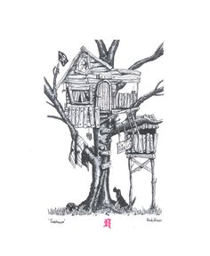 Treehouse Illustration