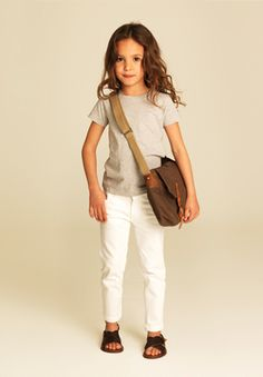 See more monochromatic looks in the Spring 2012 issue. www.bellachildmag.com #kids #children #fashion
