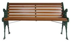 Stylish and sturdy, cast iron benches with wooden slats are long lasting components in the backyard garden or patio. These benches are available for purchase through city. bench How to Replace Wood on Cast Iron Bench Cast Iron Garden Bench, Cast Iron Bench, Outdoor Garden Bench, Wooden Garden Benches, Patio Bench, Diy Bench, Outdoor Decor, Outdoor Ideas, Outdoor Spaces