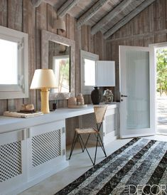Renowned French designer Jacques Grange spends a stretch of each summer on the southwest coast of Portugal in a bungalow that is the essence of simplicity, yet abounds in high style. Click through for more inspiring summer houses and summer home decor ideas.