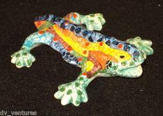 Ceramic Antoni Gaudi Mosaic Style SALAMANDER / LIZARD Park Guell, Spain Colorful