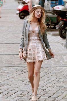 Blake Lively Serena van der Woodsen Gossip Girl Style Outfits (Vogue.co.uk)