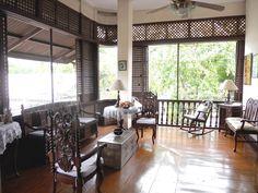 Sala - Ancestral House Filipino Architecture, Philippine Architecture, Architecture Design, Colonial Architecture, Asian Interior, Modern Interior, Home Interior Design, Upcycled Furniture, Home Furniture