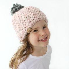 Chunky Knit Hat Pattern  PDF Knitting by HelloDollyKnitting