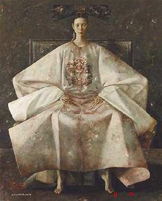 Современная китайская живопись   Modern Chinese oil paintings