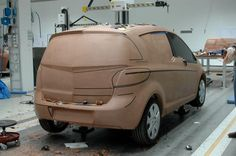 OG | 2010 Opel Meriva B | Full-scale clay model