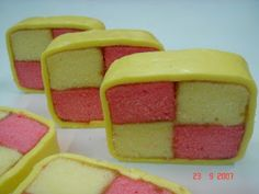 Battenburg cake | Desserts | Pinterest | Challenges, Cakes and I Had