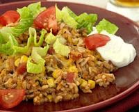 Scattered Thoughts of a Crafty Mom: Taco skillet recipe