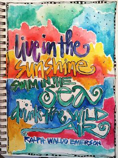 live in the sunshine . ..