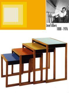 Theo Van Doesburg De Stijl Painted Chair