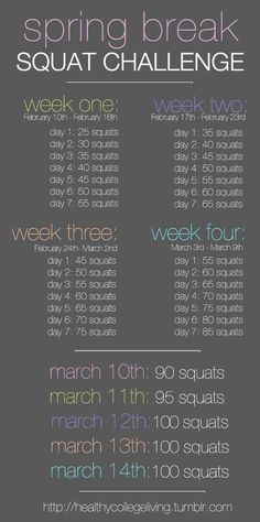 ~I am going to do this challenge and see how it helps my butt & thighs!!!~