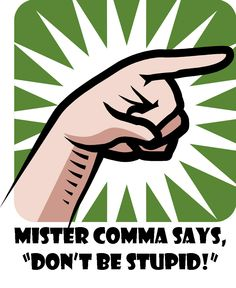 The Cantankerous Comma - Uses and Rules, Featuring School House Rock