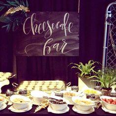 Cheesecake Bar - Friday night parties at ALT @loverly @BeBrightPink @davidsbridal