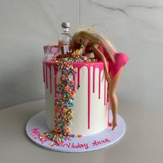 bday cakes for women * bday cake ` bday cakes for women ` bday cake for men ` bday cake for girl ` bday cake for husband ` bday cake ideas ` bday cake for boys ` bday cake ideas for women 21st Birthday Cake For Girls, 19th Birthday Cakes, Barbie Birthday Cake, 21st Bday Ideas, Funny Birthday Cakes, 18th Birthday Party, Birthday Cake Toppers, 21 Bday Cake, Girls 21st Birthday Cake